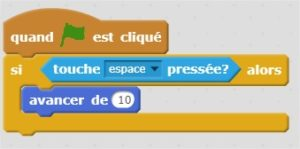 Blocs de construction de Scratch